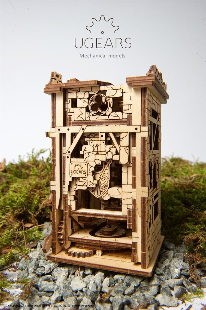 medinis bokštas
