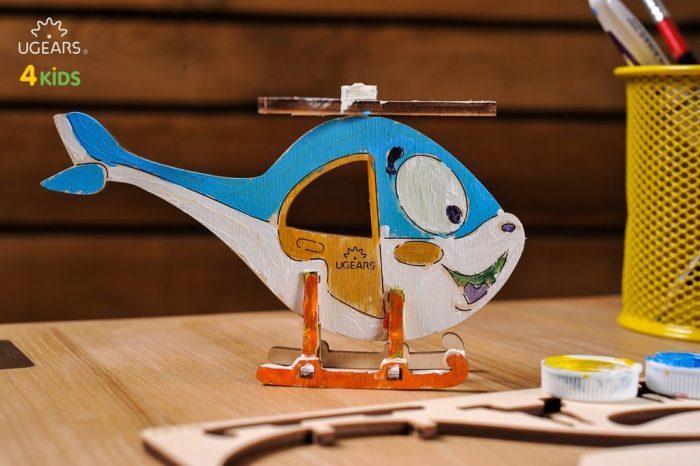 malunsparnio 3D modelis