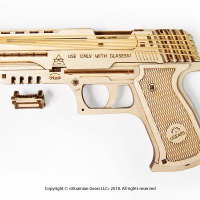 Medinis pistoletas / Žaislinis pistoletas