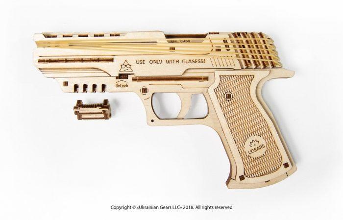 medinis pistoletas