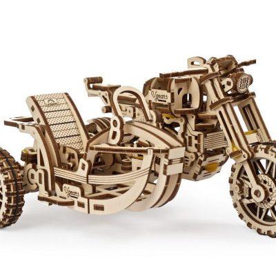Motociklas su priekaba