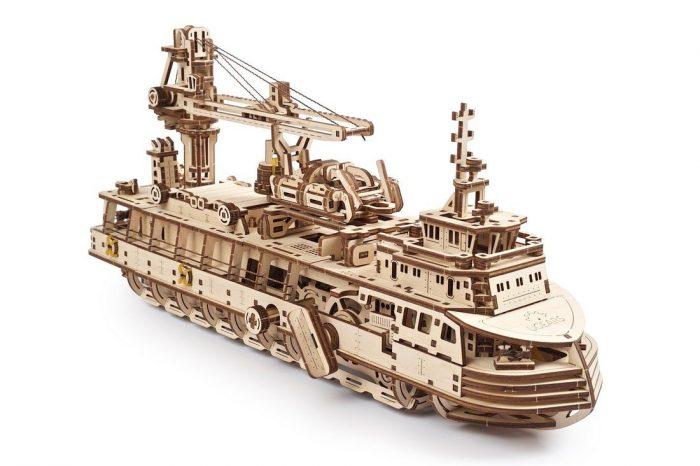 tyrimų laivas