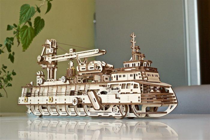 ugears medinis 3d modelis