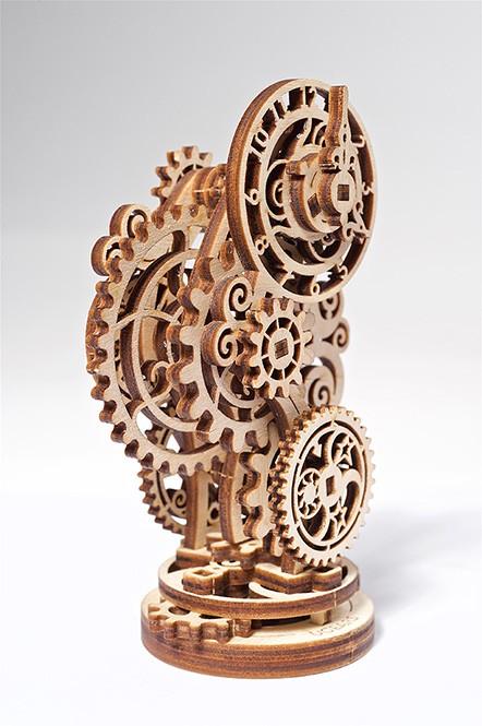 Steampunk laikrodis UGEARS