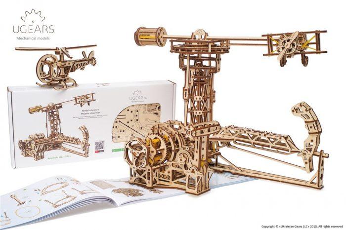 3D modelis Aviatorius