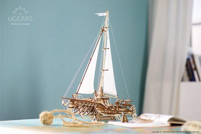 3d laivo modelis