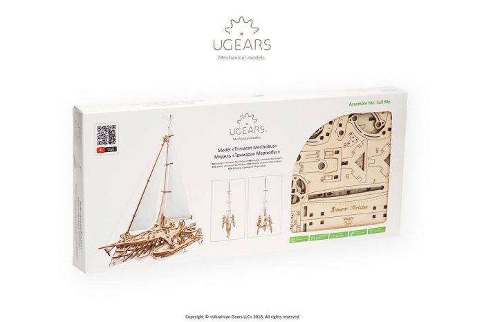 Laivo modelis ugears