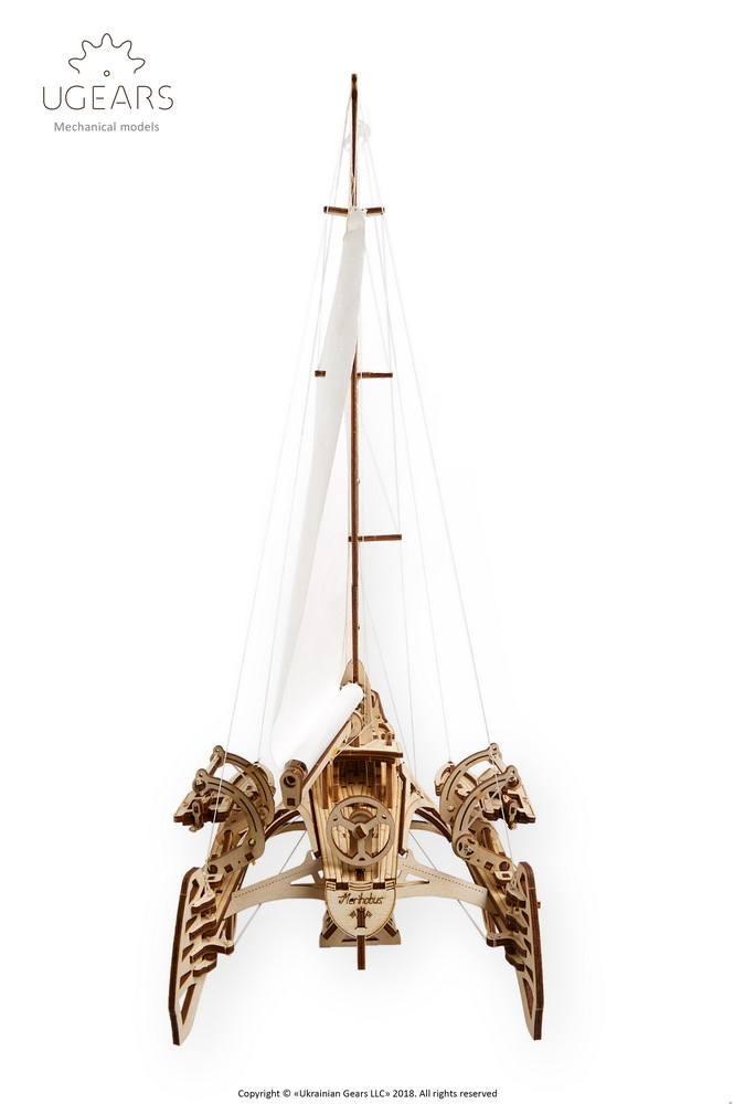 medinis laivo modelis