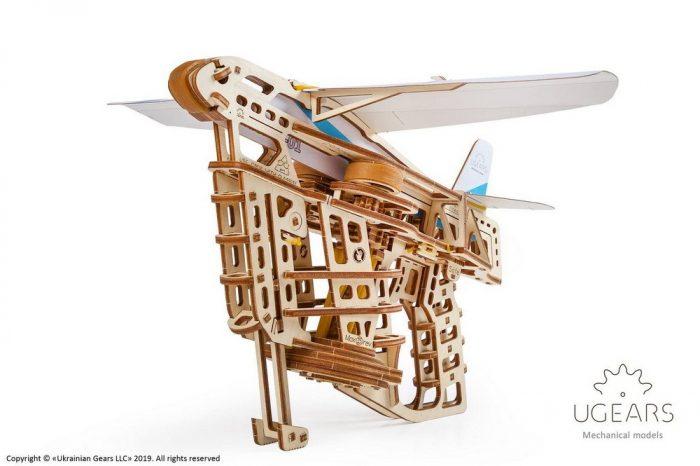 medinis 3D lektuvas