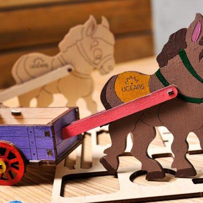 Asiliukas 3D modelis spalvinimui